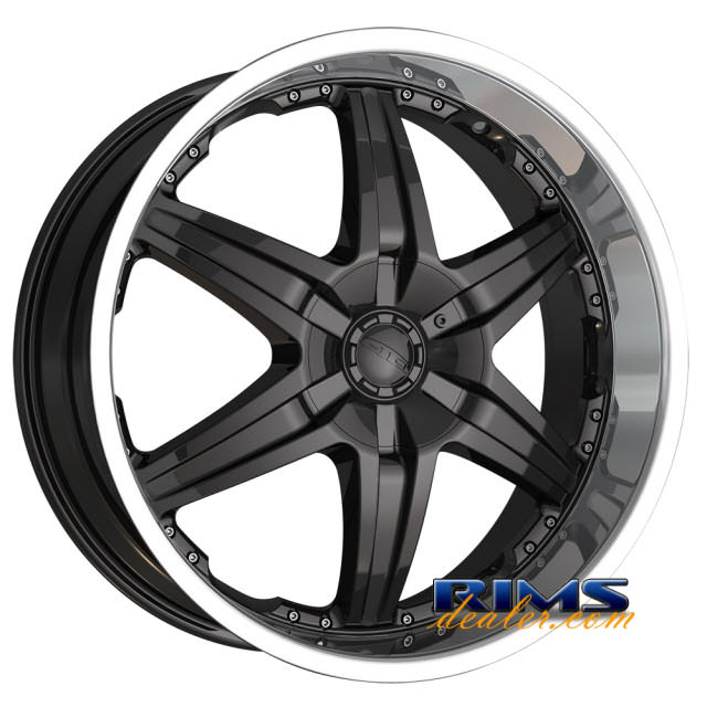 Pictures for Dip Rims WICKED-[D39] machined w/ black